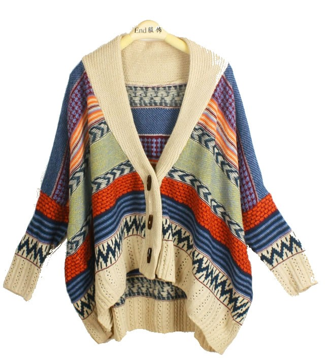SALE FREE SHIP Oversized Cardigan Sweater   from Lucky Seven Shop on Storenvy