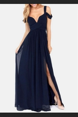 dress evening dress gown bridesmaid
