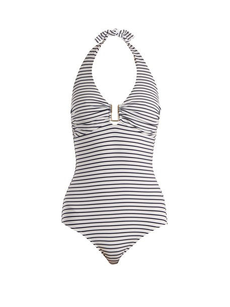 Melissa Odabash white blue swimwear