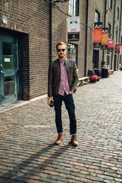 stay classic,jacket,shirt,jeans,shoes,belt,jewels,sunglasses