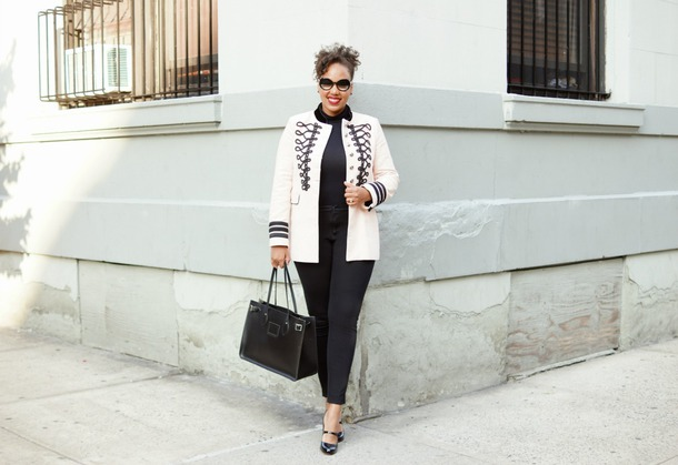 closetconfections blogger jacket pants bag handbag pumps fall outfits