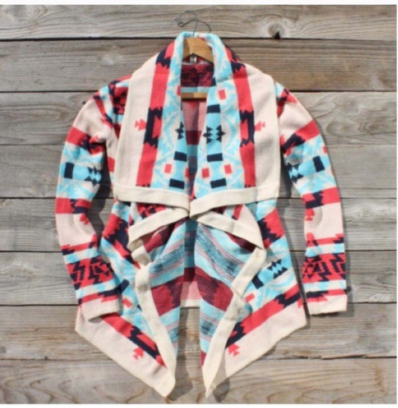 cardigan emily colorful warm