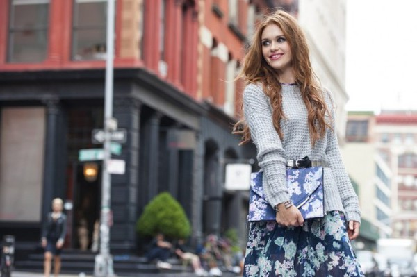 dress sweater holland roden fall outfits