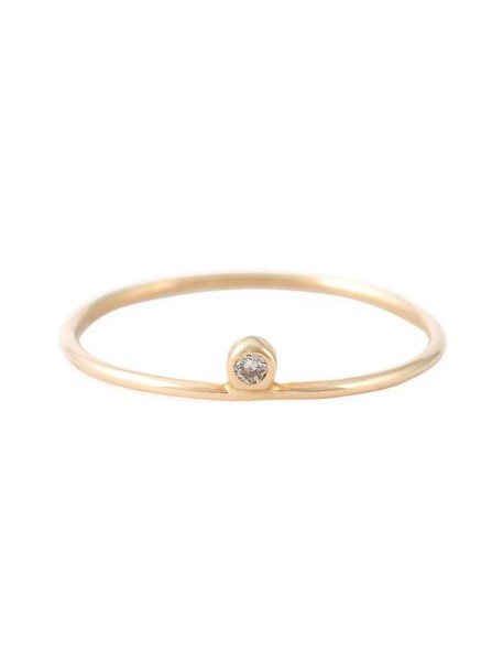 Ivy & Liv diamond ring women ring gold grey metallic jewels