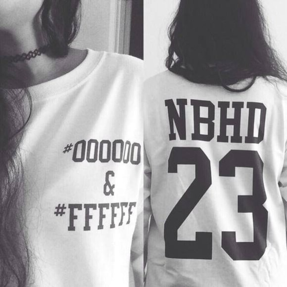 shirt follow me the neighbourhood shirt, black, the neighbourhood, the neighborhood t-shirt I follow back