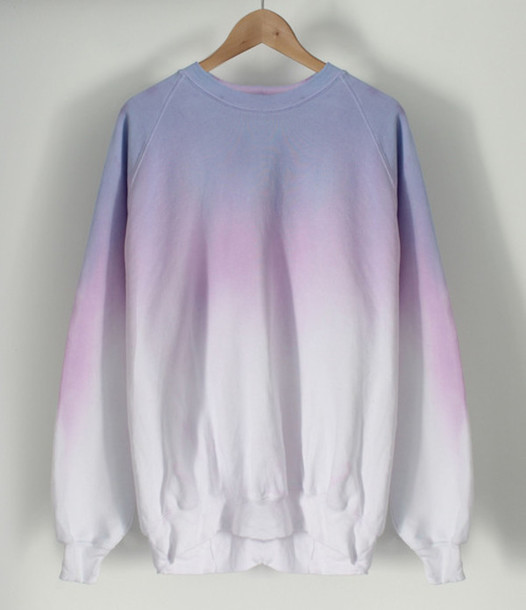 sweater clothes tie dye