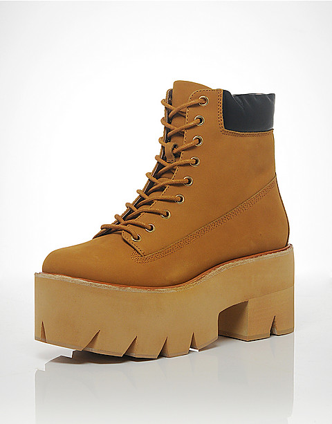 Jeffrey Campbell Nirvana Lace Up Boots | BANK Fashion