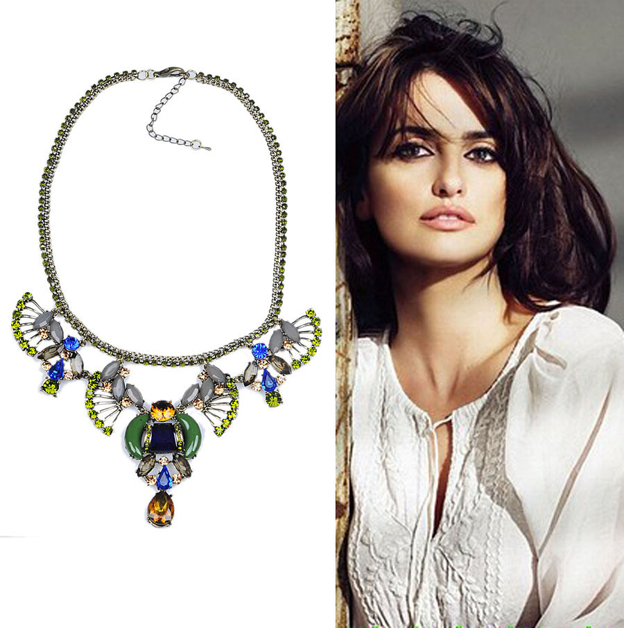 Hot Sale Brand J.style Chokers Necklaces 2 Colors Party Statement Necklace Free Shipping-in Choker Necklaces from Jewelry on Aliexpress.com