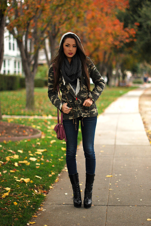 hapa time jacket sweater tank top jeans scarf bag shoes