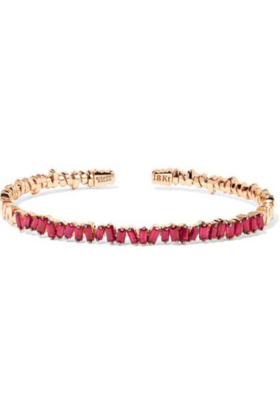 Suzanne Kalan cuff gold jewels