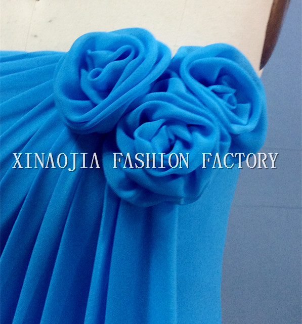 Aliexpress.com : Buy 2014 Real Image Bridesmaid Dresses Under 100$ Free Shipping Flower Strapless Neckline Full Length Column Simple Party Gowns Sale from Reliable party dresses gowns suppliers on Chaozhou City Xin Aojia dress Factory