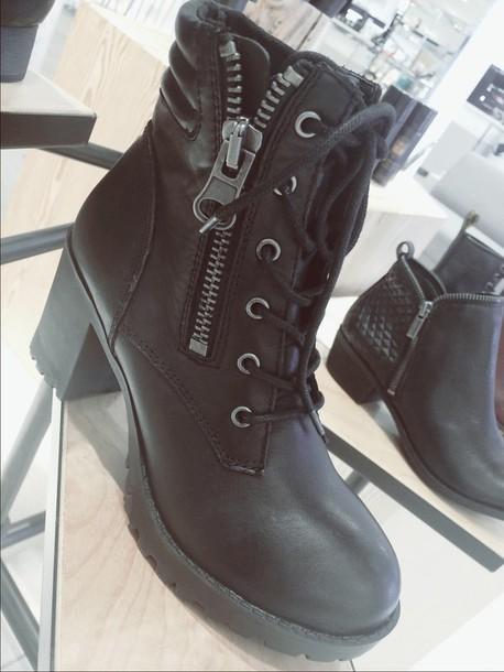 shoes black boots leather black boots black shoes black heeled boots black