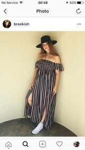 dress,striped top,curvy,plus size dress,bree kish,summer,summer dress
