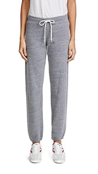 Monrow sweatpants vintage dark pants