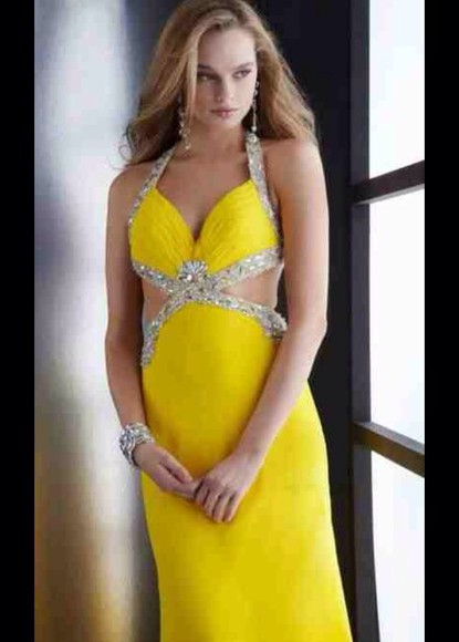 sparkly long dress prom dress nude dress yellow short dress yellow dress jewels homecoming dress formal dress red dress lace dress