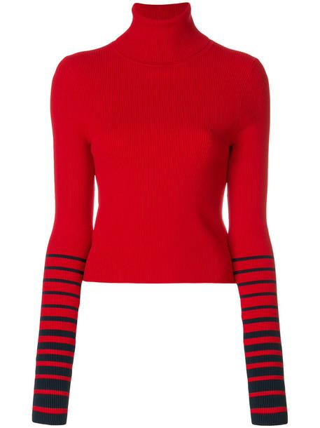 Tommy Hilfiger - Tommy x Gigi striped sleeve sweater - women ...