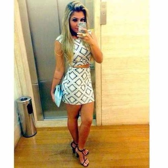 top white printed fitted bandeu skirt bottoms dress cute crop tops skirt