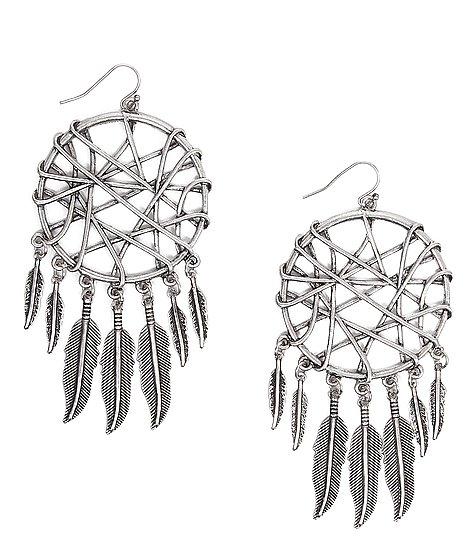 Daytrip dreamcatcher earring