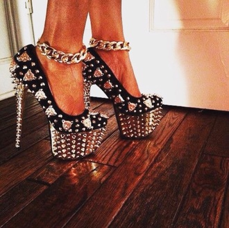 shoes heels pumps spikes