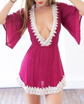 romper,lace playsuit,jumpsuit,corset,bohemian,kimono sleeve,top,bottoms,skirt,dress,sexy,cute,fashion,beautiful,summer,girly,outfit,clothes,sammydress,red dress,red,boho,gypsy,style,lace,burgundy