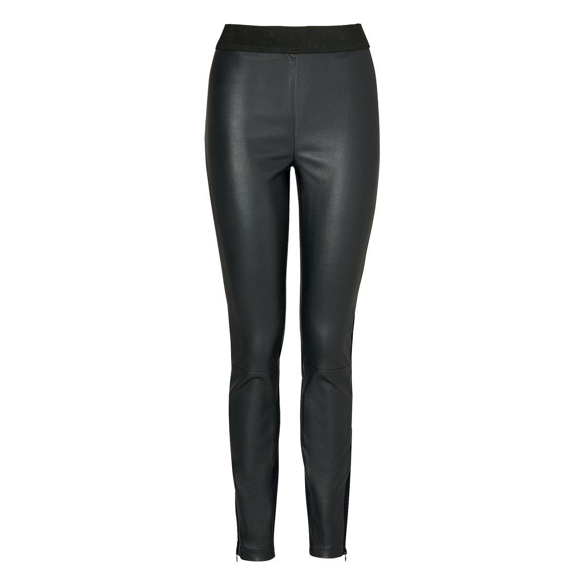Luna leather trouser