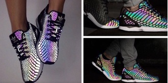 shoes cool shoes rainbow mesh mesh shoes needs wishlist red orange yellow green blue purple pink yellow green magenta cute lovely adidas shoes adidas wings adidas cool reflective adorable af