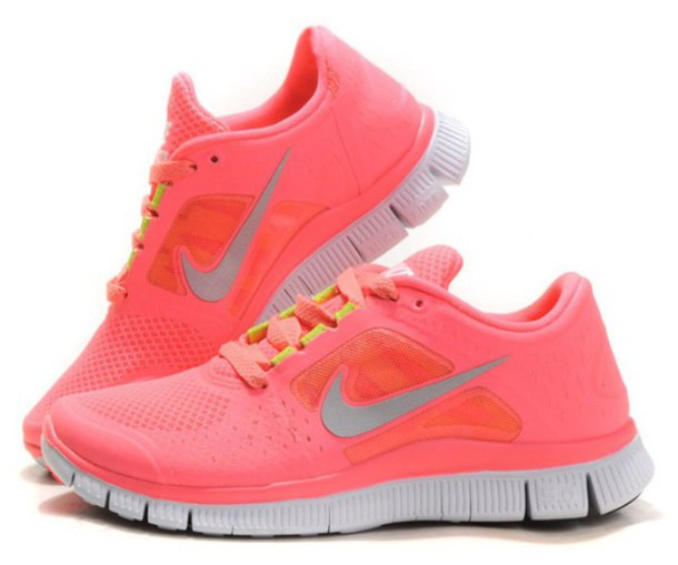 shoes nike running shoes nike style beautiful pink lovely