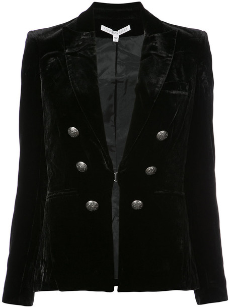 Veronica Beard jacket women black silk