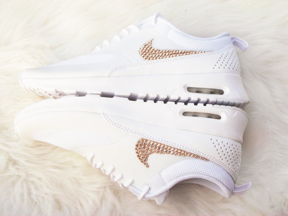 Get the gold on Sale Women s Nike Air Max Thea Running Shoes ... 11441b244