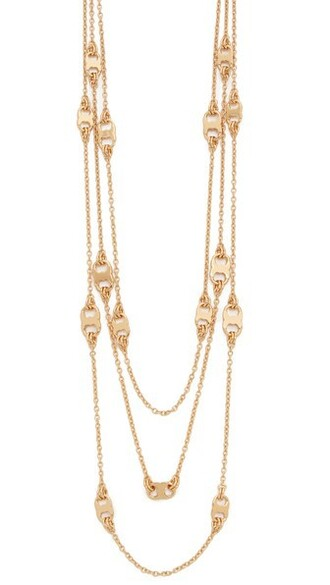 shiny necklace gold jewels