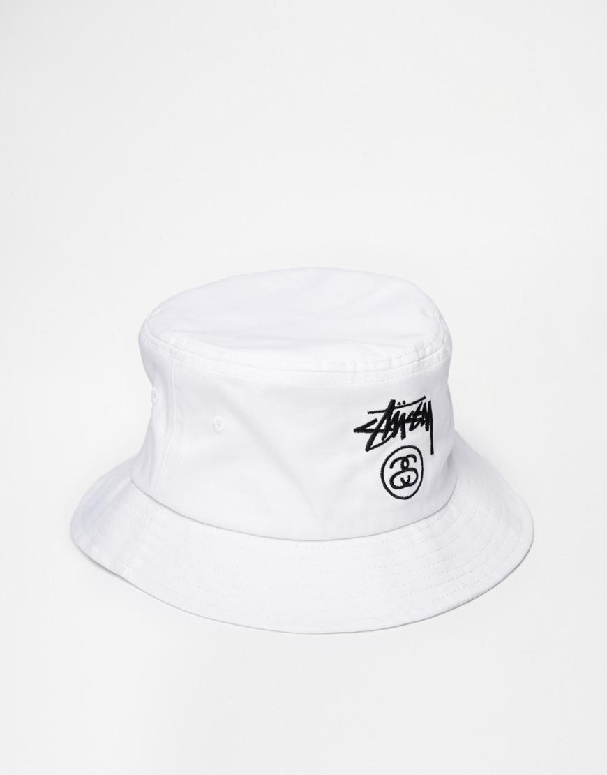 c87cb3d56aaf47 Stussy Bucket Hat at asos.com