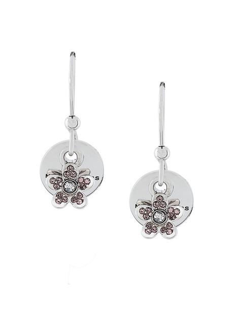 Marc Jacobs women earrings grey metallic jewels