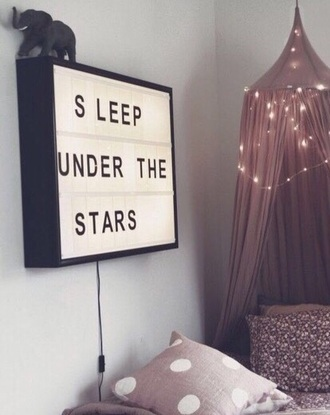 bedding pannel light jeans home accessory frame home decor lifestyle kids room baby room dusty pink wall decor boho bohemian bedroom bag canopy tumblr bedroom canopy top hipster jewels cute sleep stars sign purple bedroom canopy