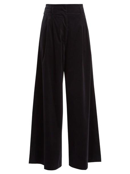 Vanessa Bruno cotton navy pants
