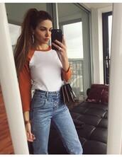 shirt,negin_mirsalehi,orange,white