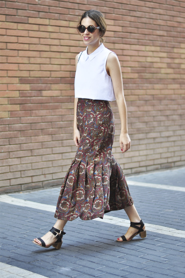 dansvogue skirt bag shoes top sunglasses