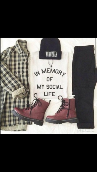 jeans sweater beanie boots hat blouse shirt t-shirt top shoes