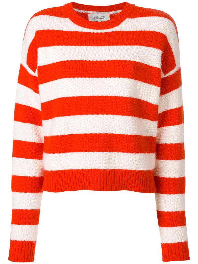 Diane Von Furstenberg - zip collar jumper - women - Polyester ...