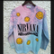 Nirvana nevermind sweatshirt  on the hunt