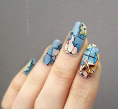 nail accessories,tumblr,nail polish,nail art,nails
