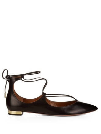 flats leather flats leather black shoes