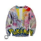 sweater,pullover,pokemon