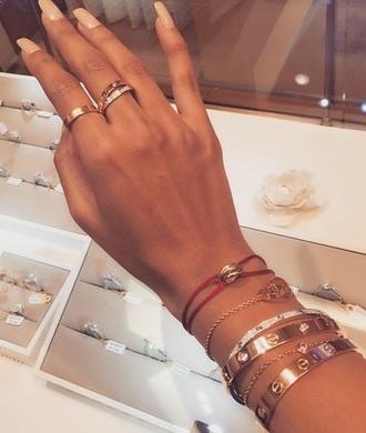 jewels gold rose gold beautiful cute ring classy jewelry