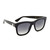 Gucci Square Tiger Sunglasses - Black/Grey