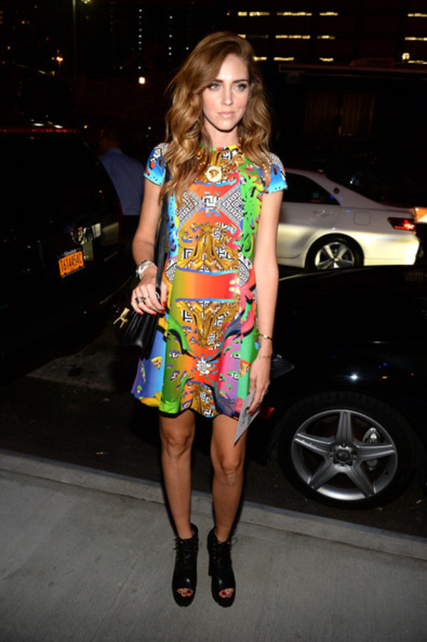 dress fashion week 2014 chiara ferragni