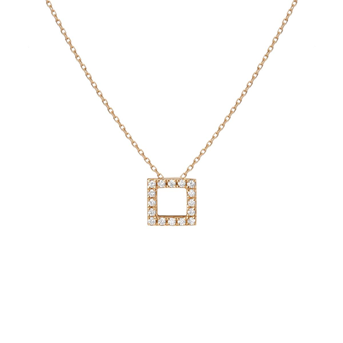 Diamond Square Pendant