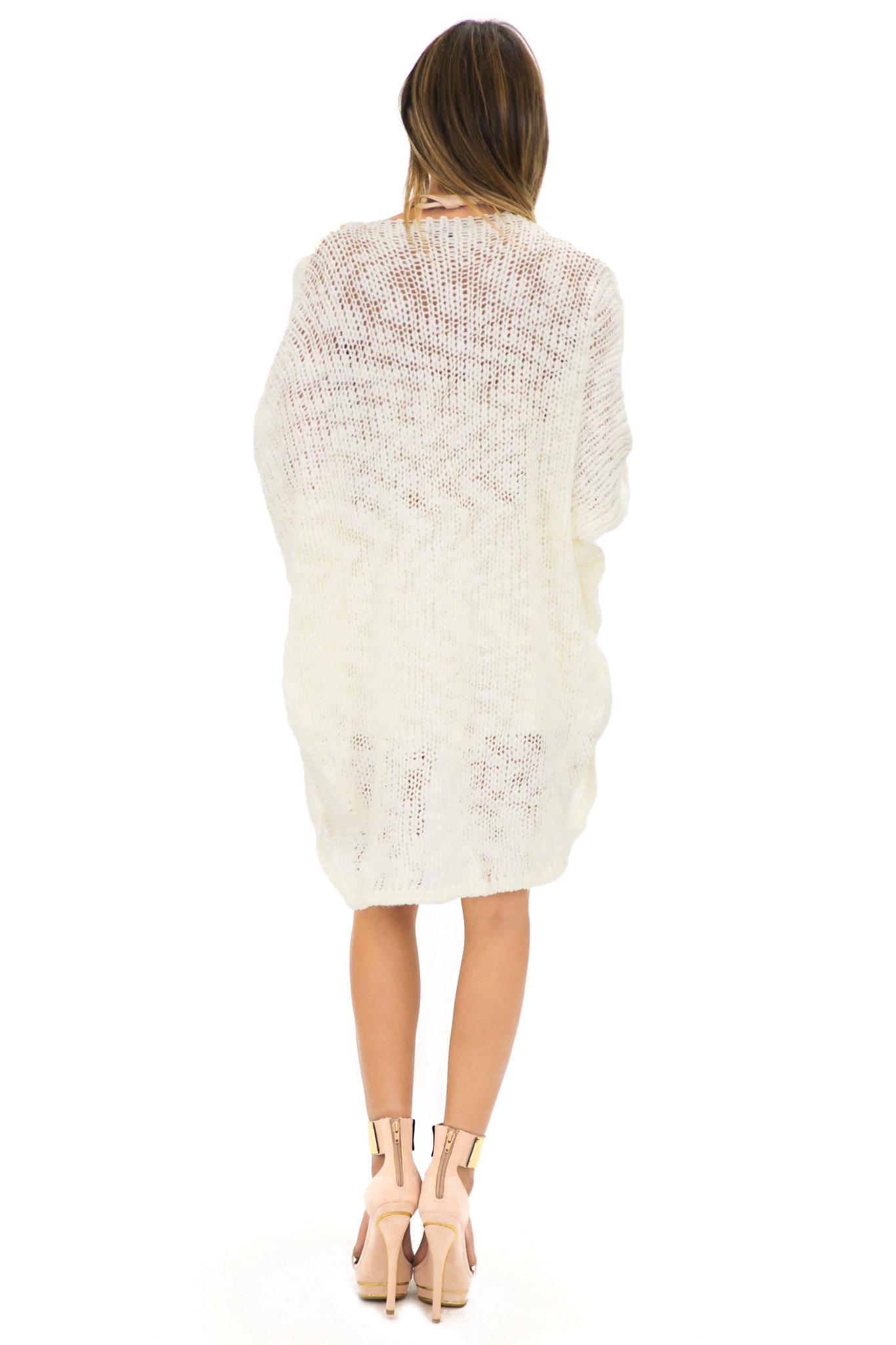Vern knit draped cardigan