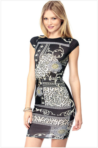 dress print dress summer dress