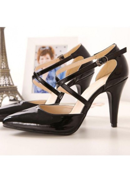 high heels d'orsay cross straps x strap strap