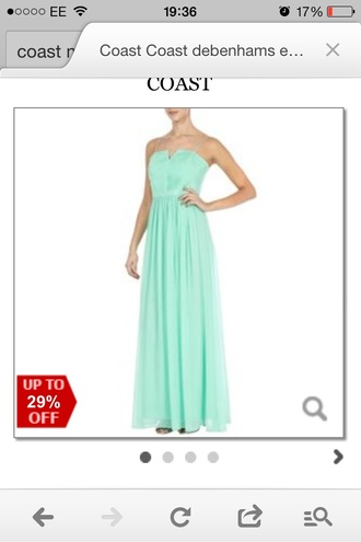 dress prom maxi dress mint